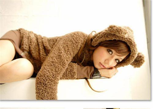 Cute Hoodie from Japan with bear ears