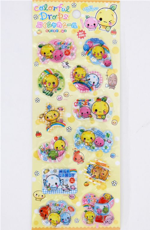 Q-Lia Kawaii Fruits Sticker